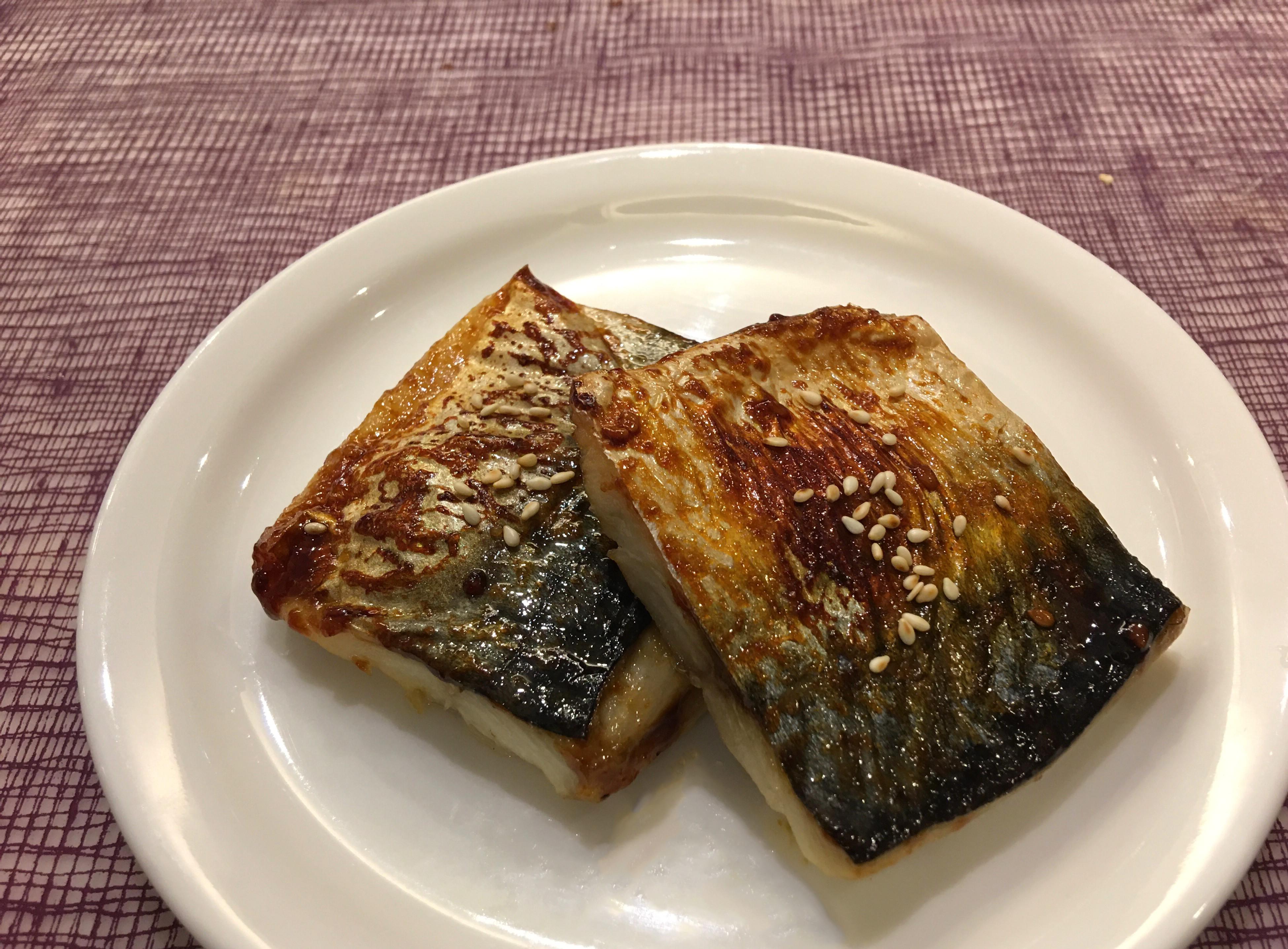 照燒鹽烤鯖魚