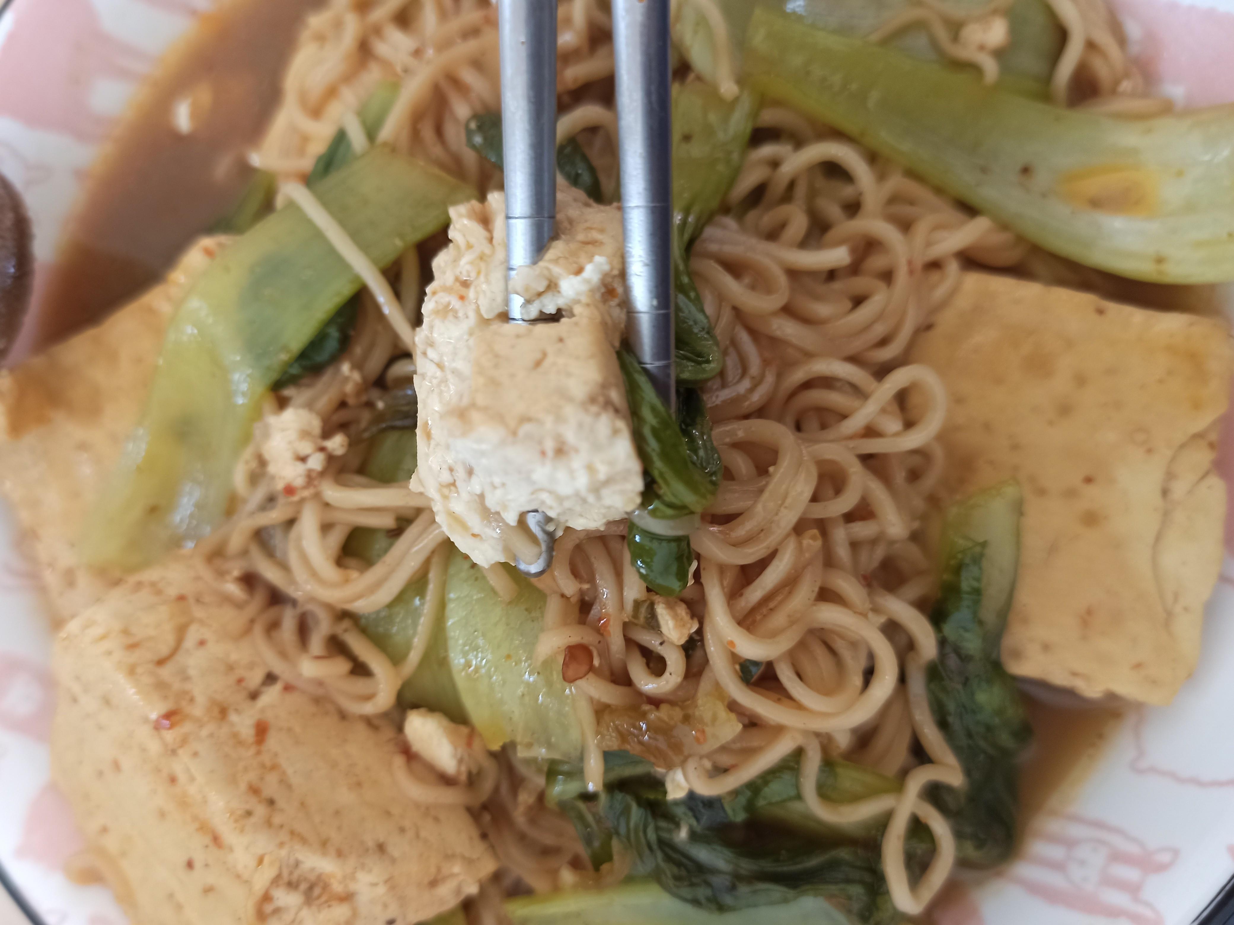 [臭豆腐泡麵]素飄香+臭豆腐