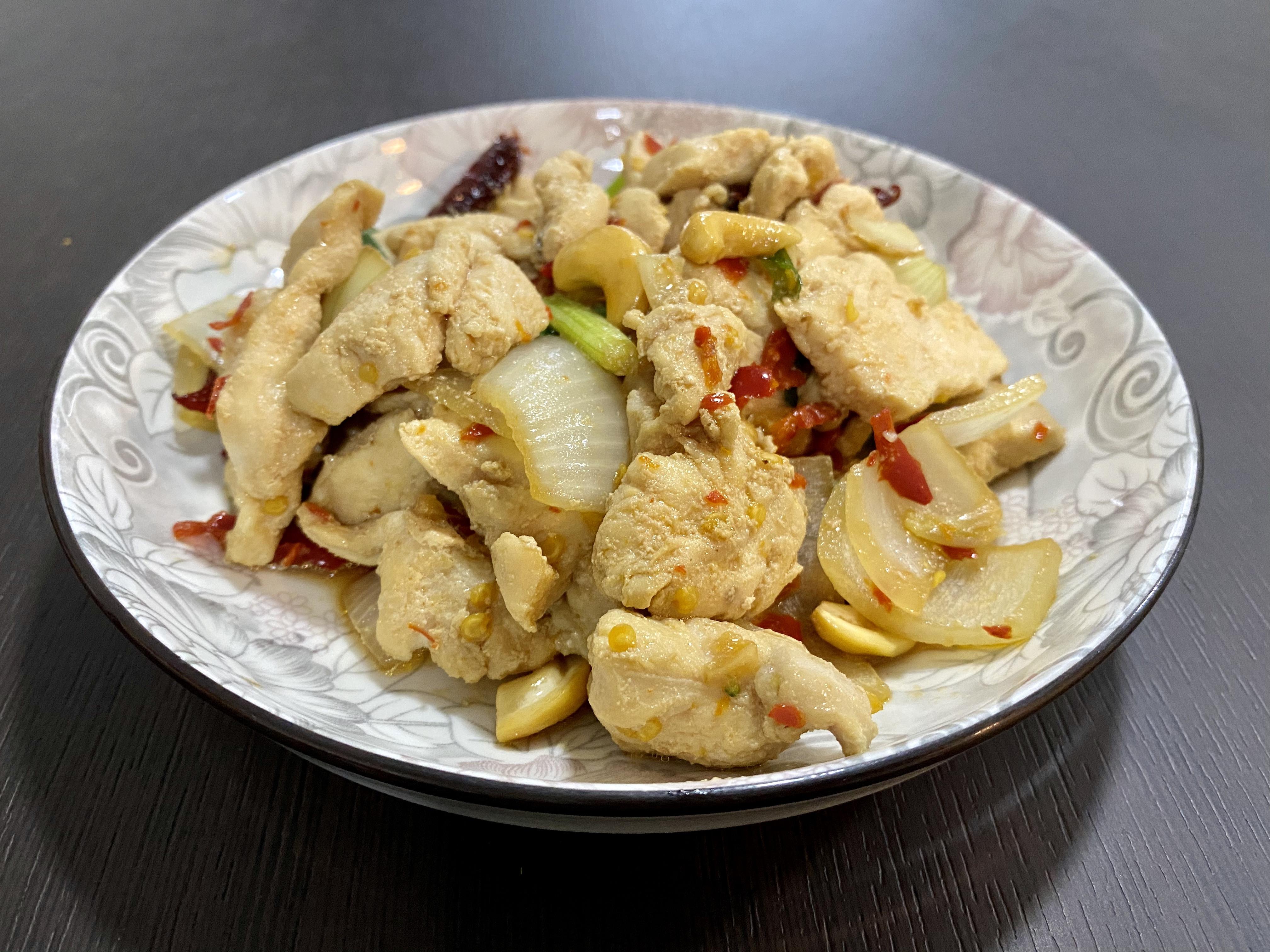 (泰式料理簡單做) 腰果雞丁
