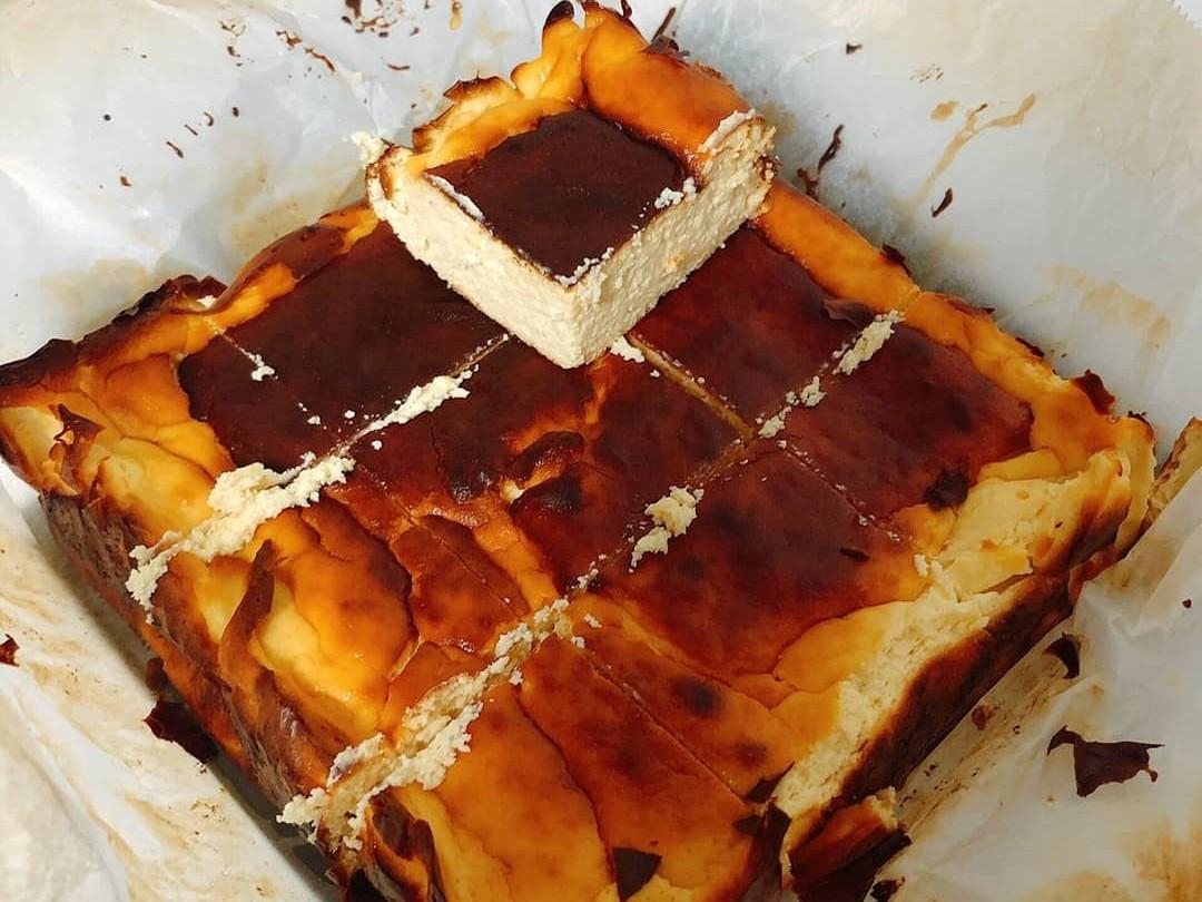 低糖減脂巴斯克乳酪蛋糕