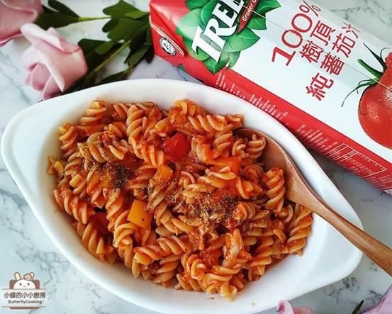 [一鍋到底]茄汁鮪魚義大利麵