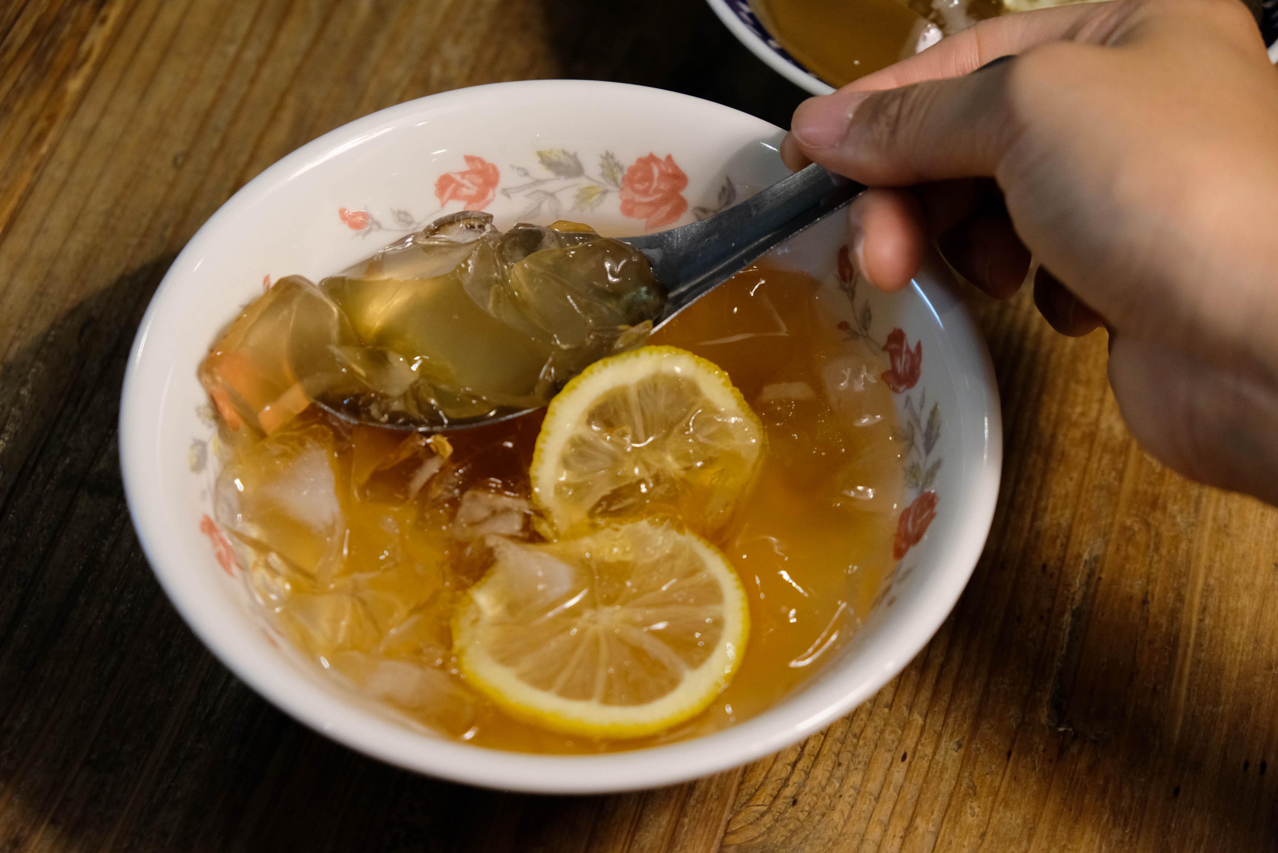 愛玉蜂蜜檸檬