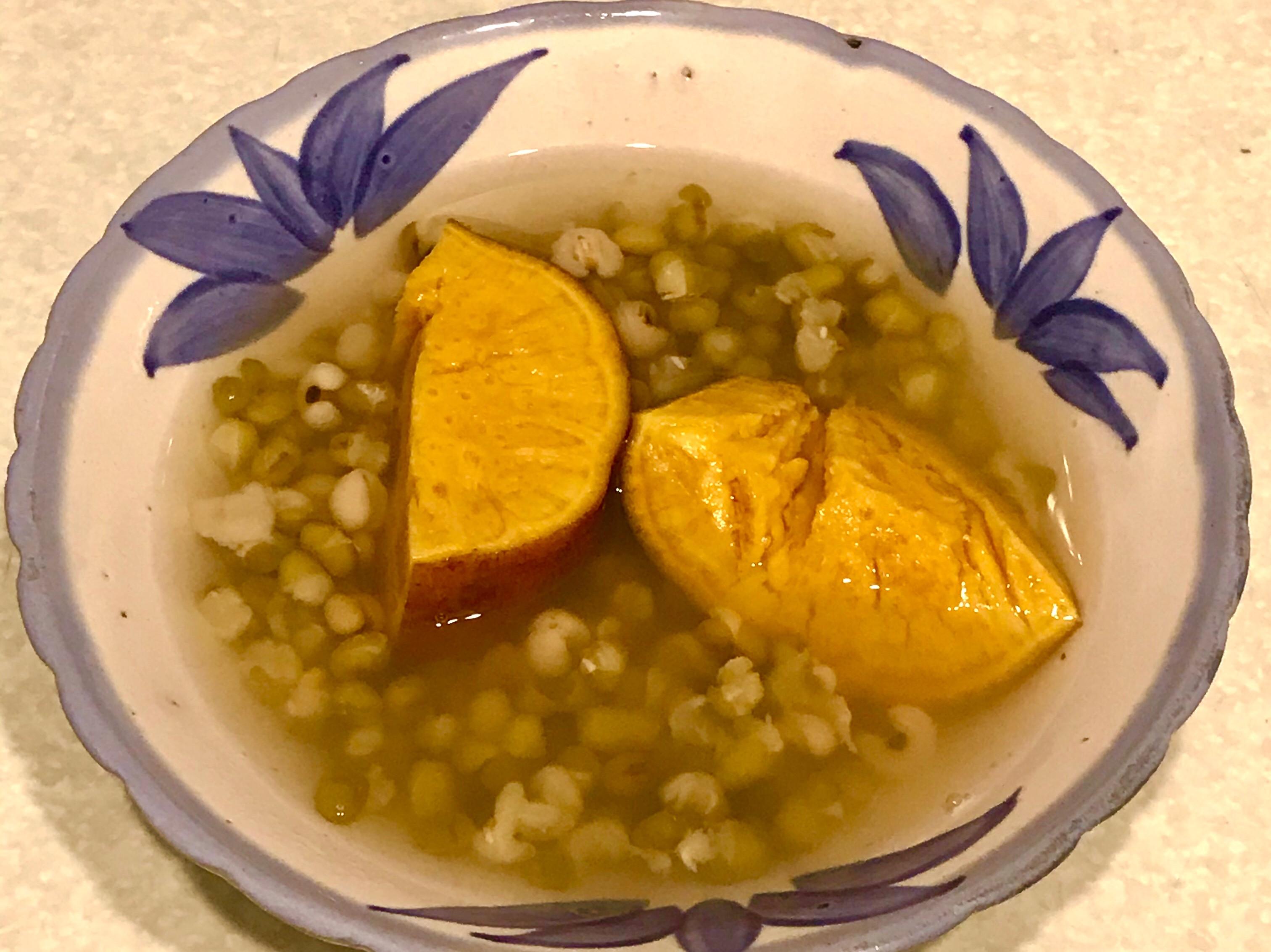 綠豆薏仁地瓜湯[壓力鍋版]