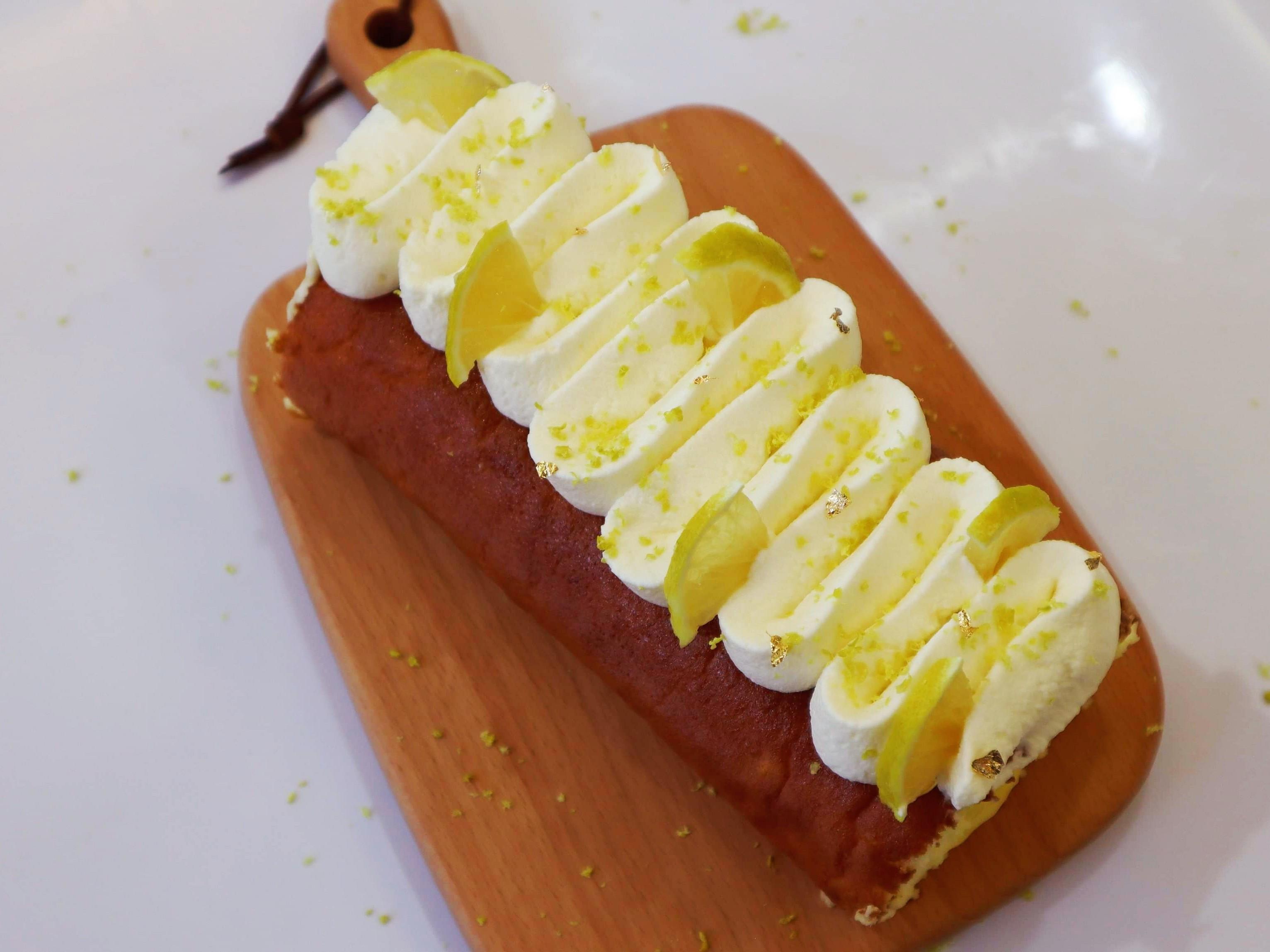 檸檬瑞士捲