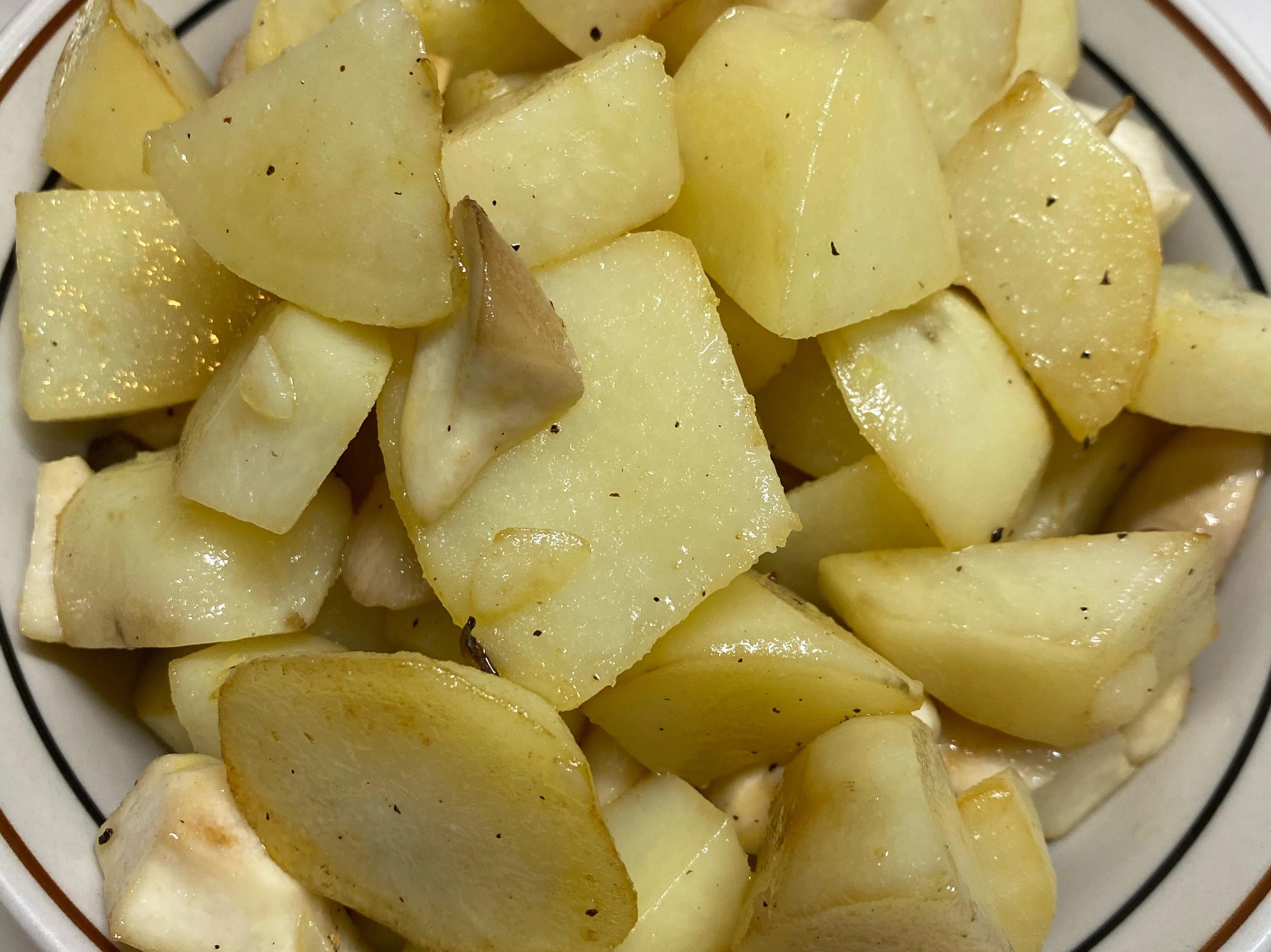 香煎馬鈴薯杏鮑菇