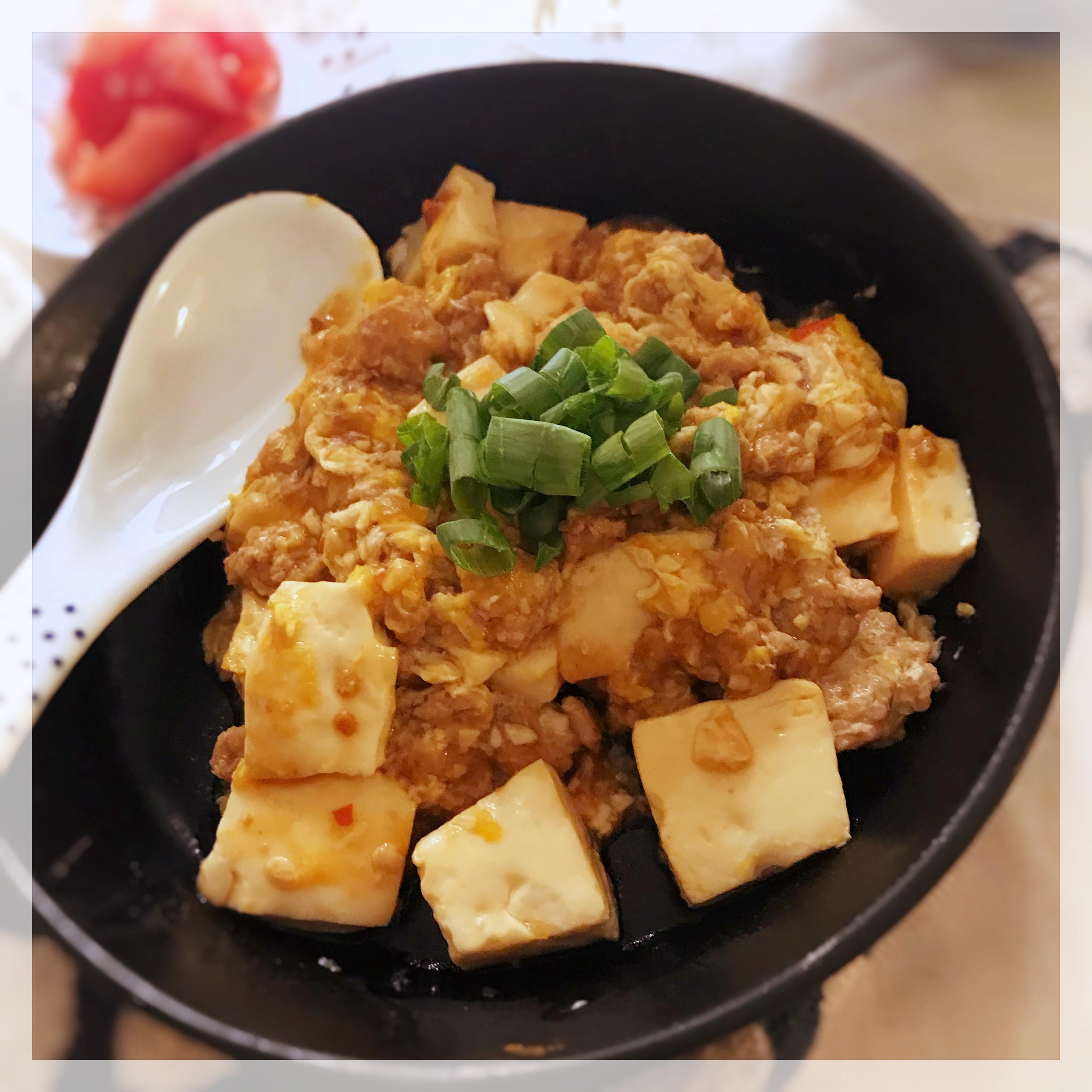 豆腐滑蛋煮 (露營OK)
