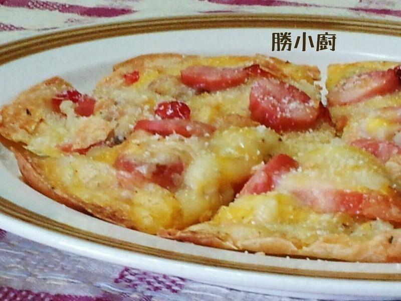 【博客】創意披薩