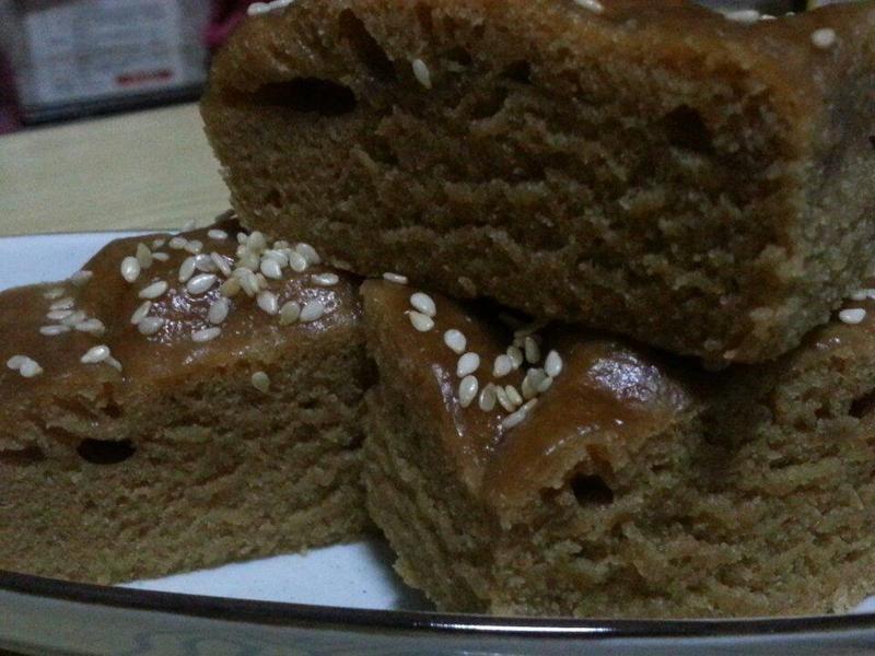 【黃金玄米油HOME點心料理】黑糖糕