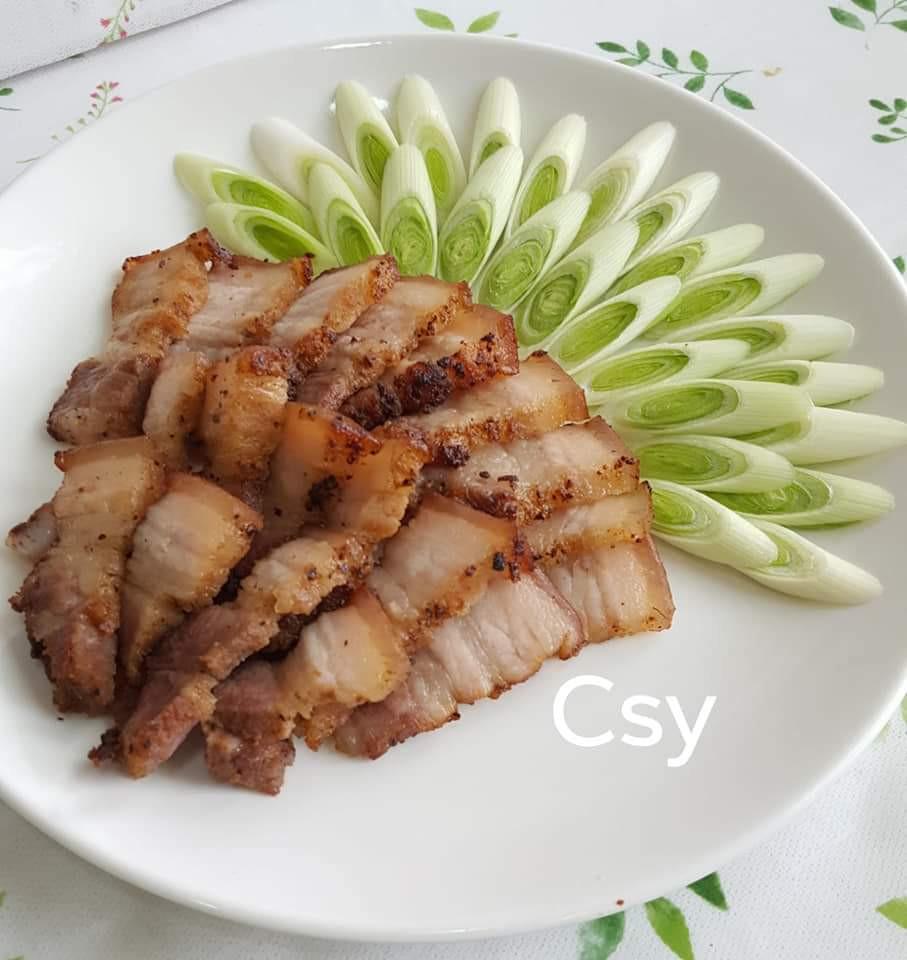 馬告鹽麴鹹豬肉