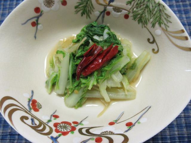 薑香小白菜