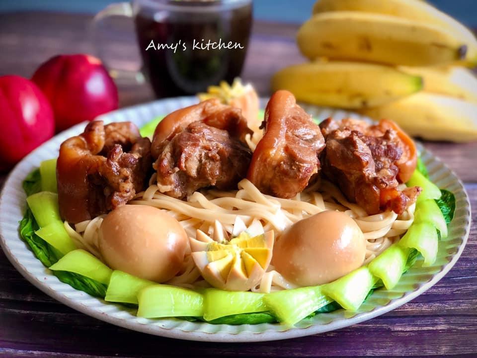 午餐-腿庫麵