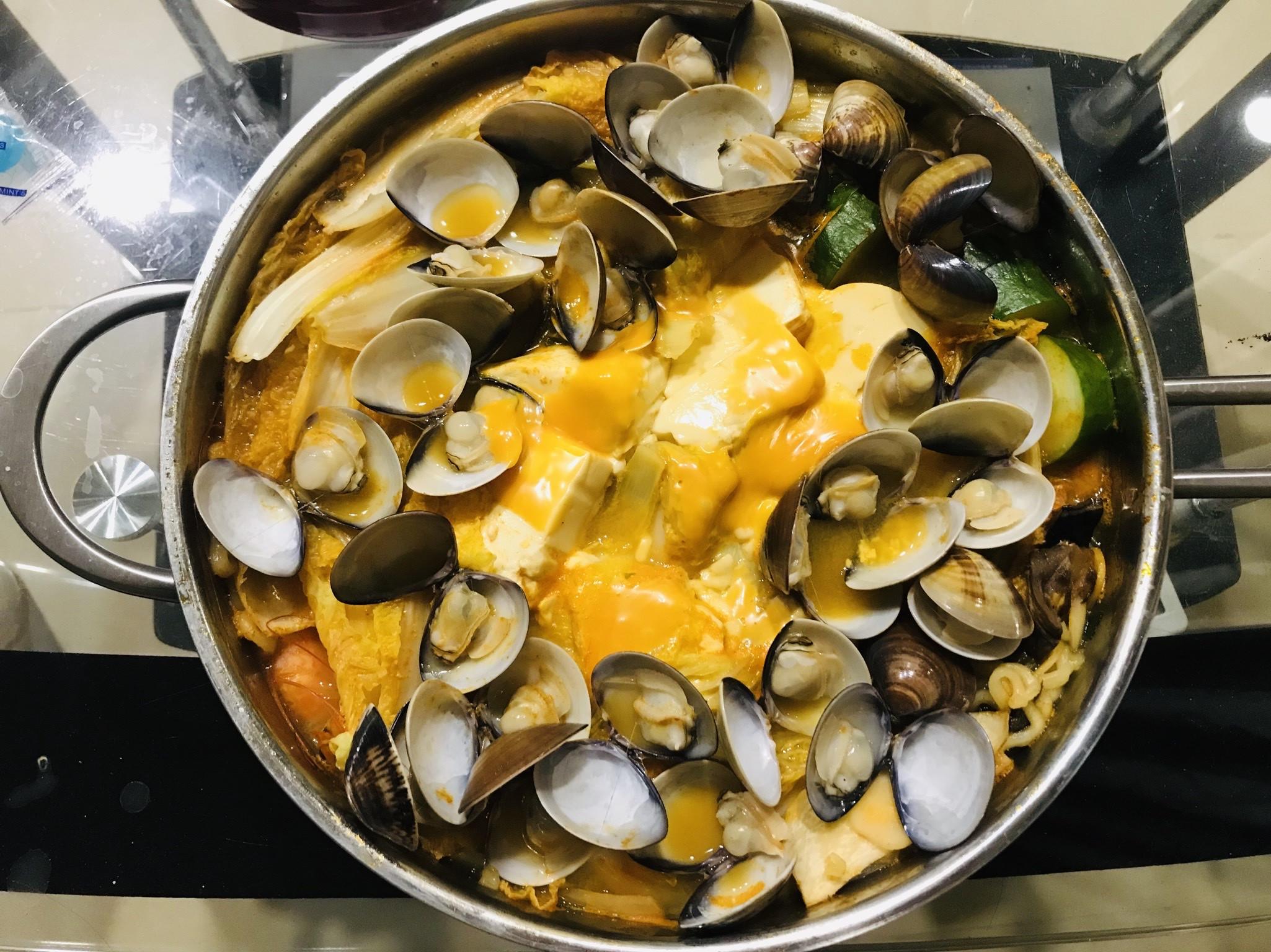 韓式海鮮拉麵鍋