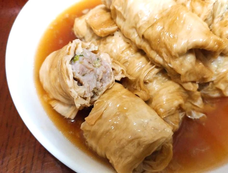 【家常菜】腐皮豬肉捲(電鍋料理)