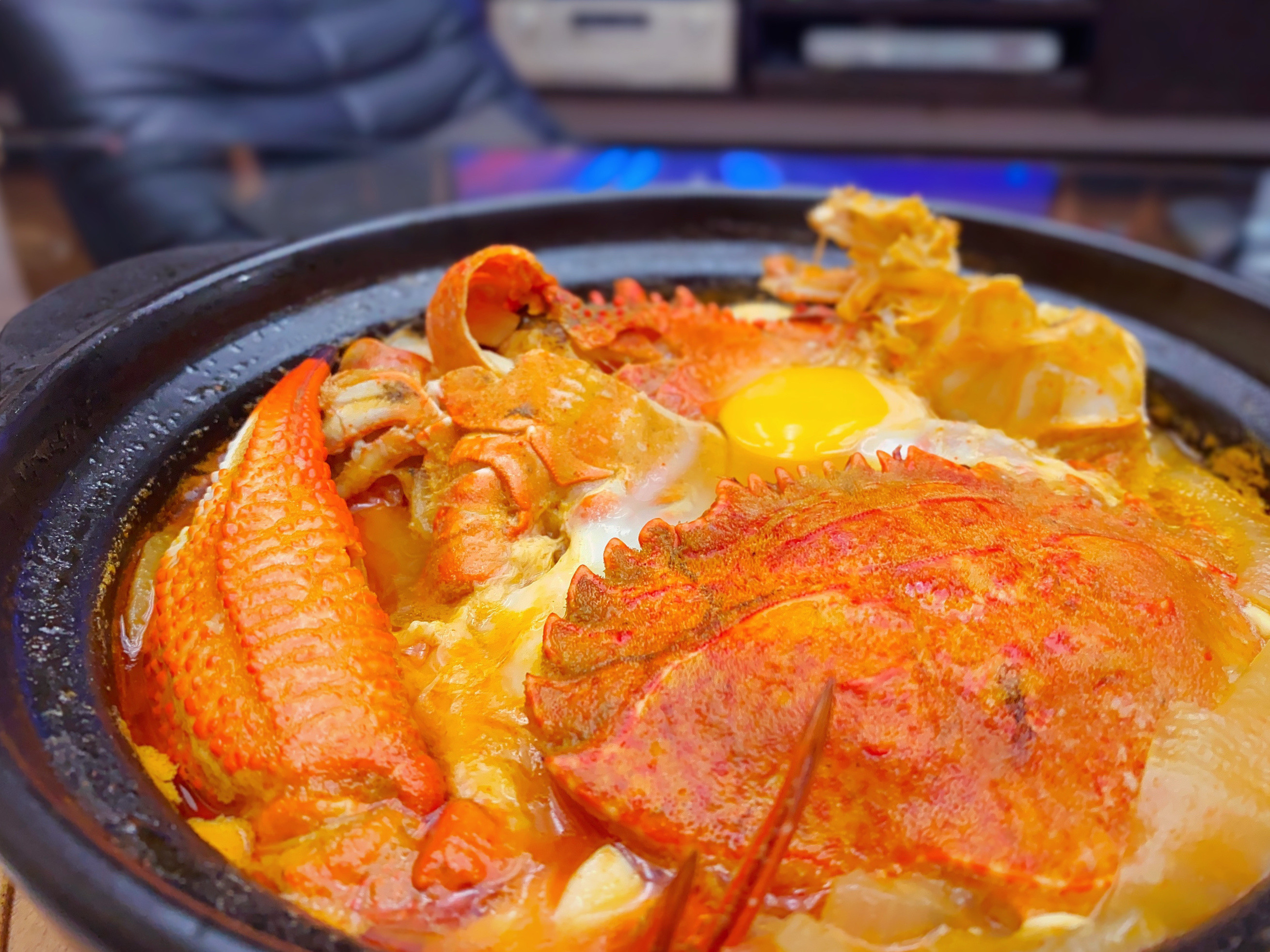 韓式石蟹豆腐鍋(辣味石蟹豆腐煲)