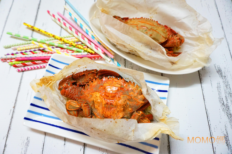 烤奶油螃蟹(澎湖野生石蟹)
