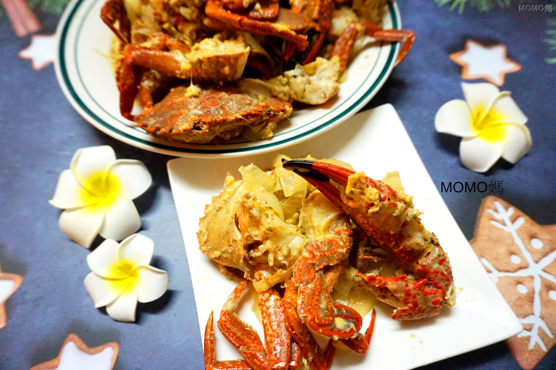 滑蛋胡椒蟹(澎湖野生石蟹)