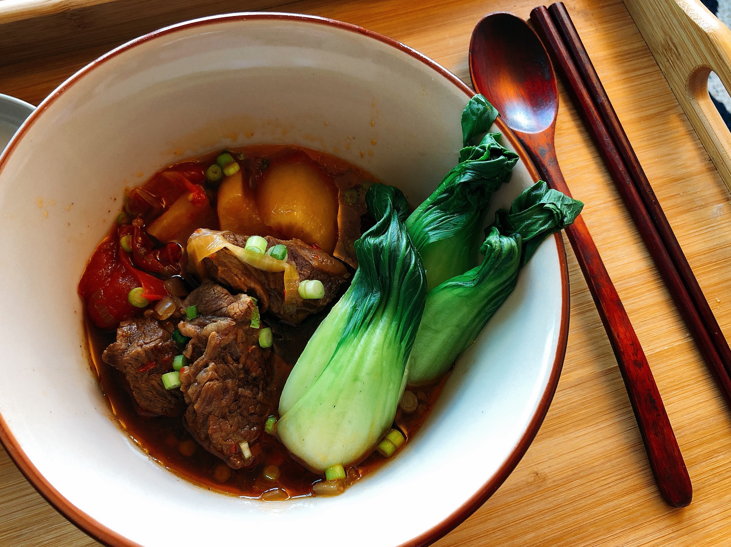 [Instant Pot]紅燒牛肉湯
