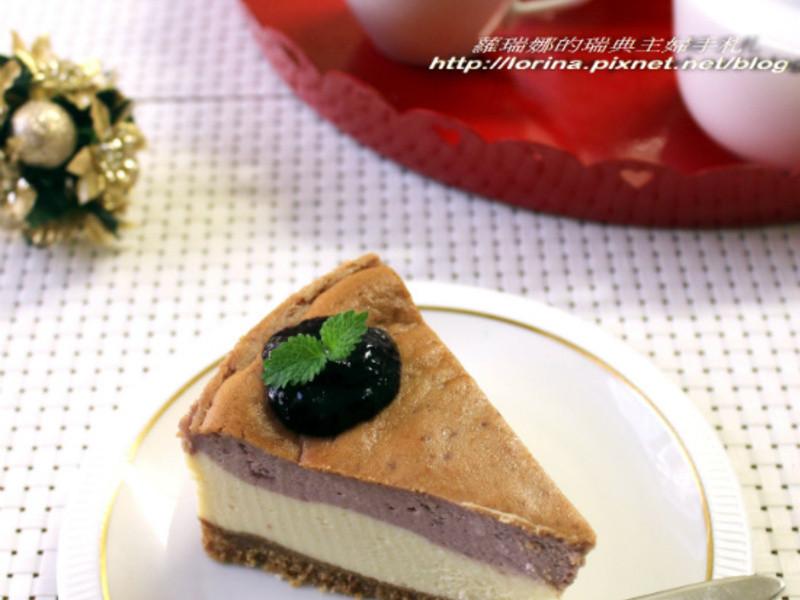 香濃好滋味~藍莓重乳酪蛋糕