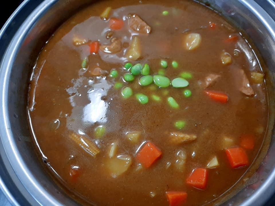 豬肉咖哩(電鍋料理)