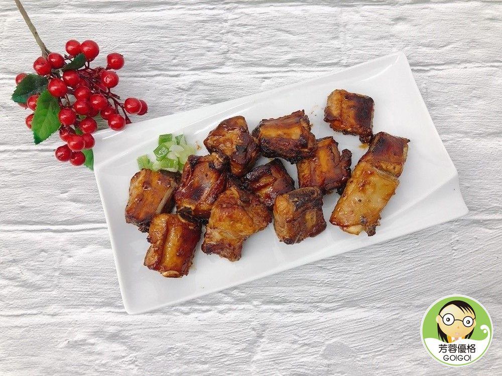香烤味噌蜂蜜排骨~氣炸烤箱料理