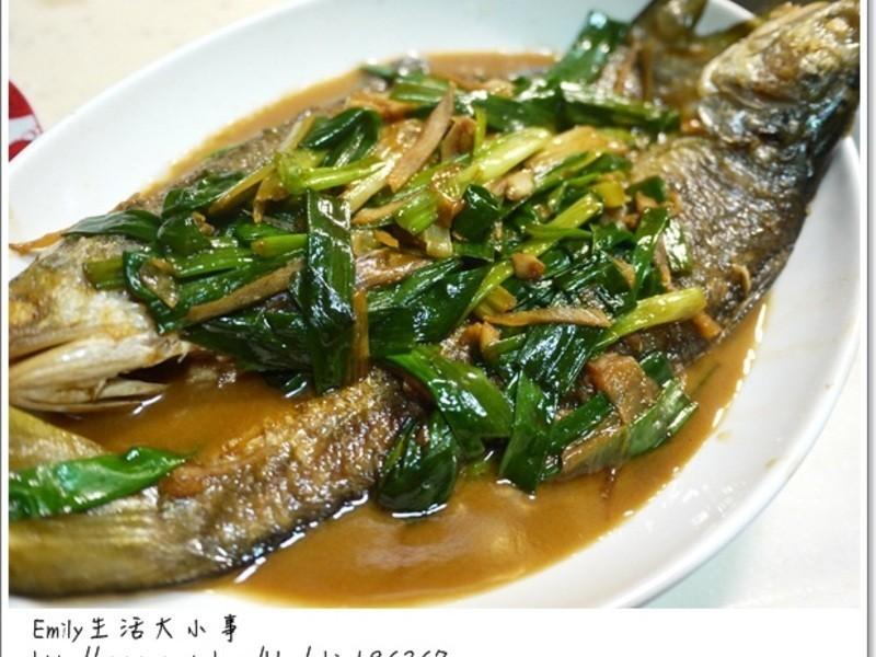 蔥燒午仔魚