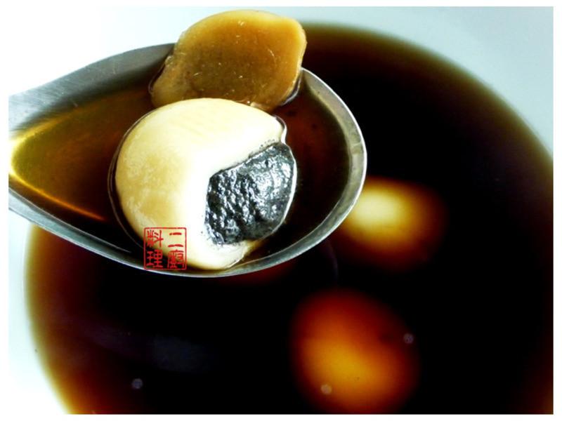 《二廚料理湯品》黑糖薑汁芝麻湯圓