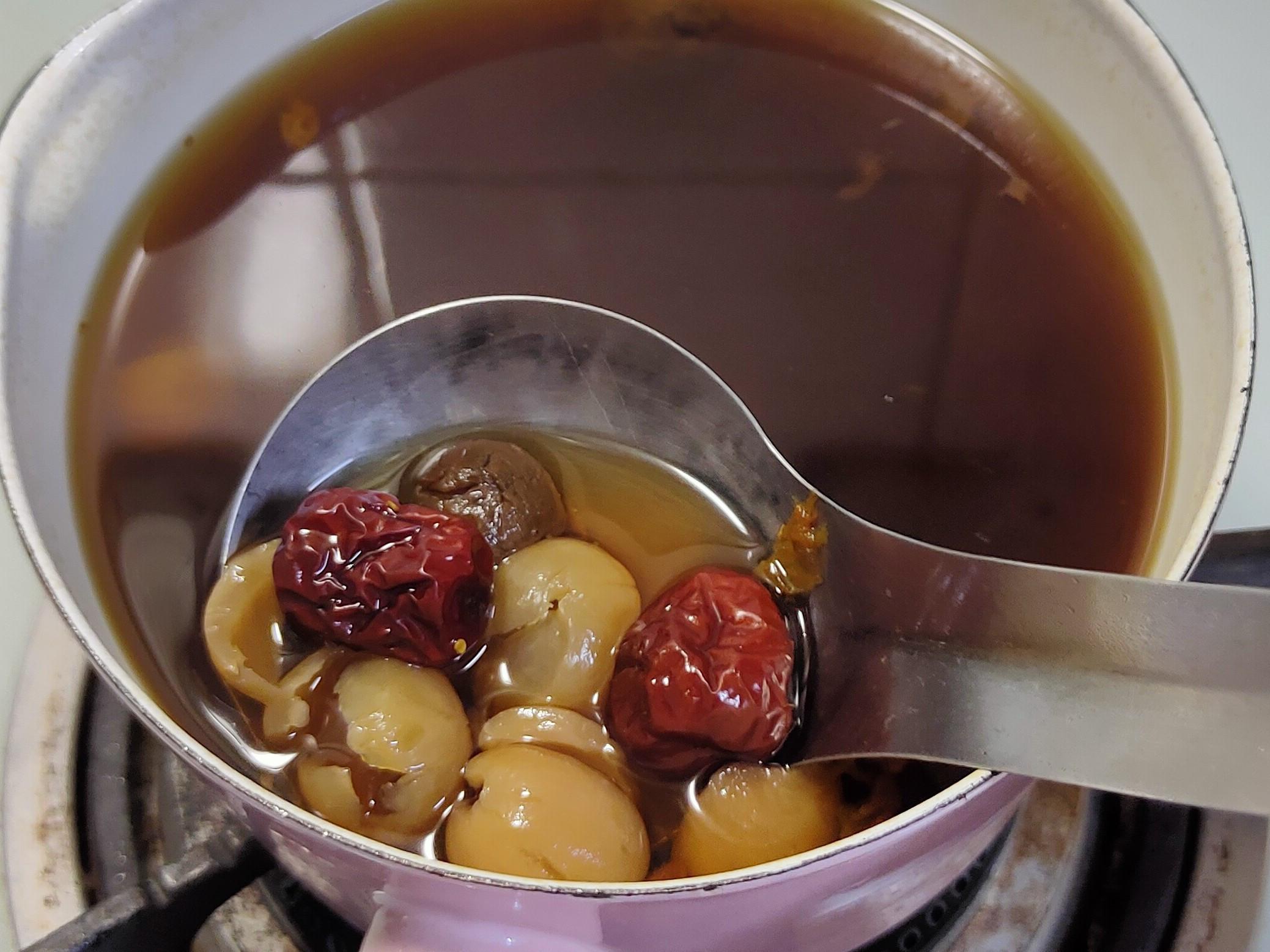 黑糖桂圓紅棗茶