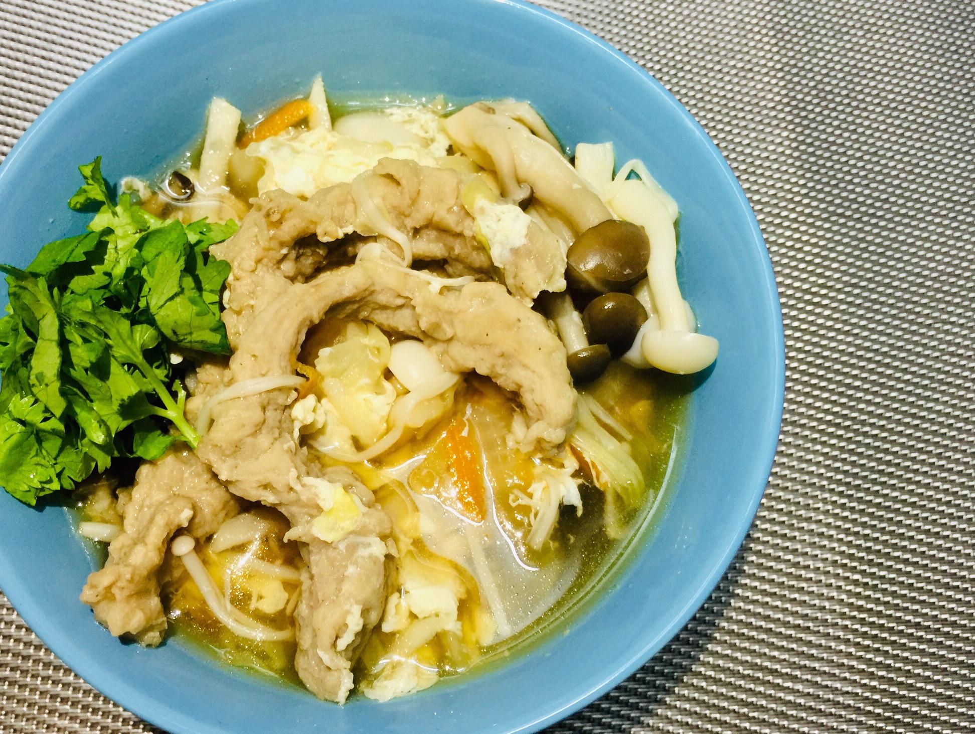菇菇肉羹湯