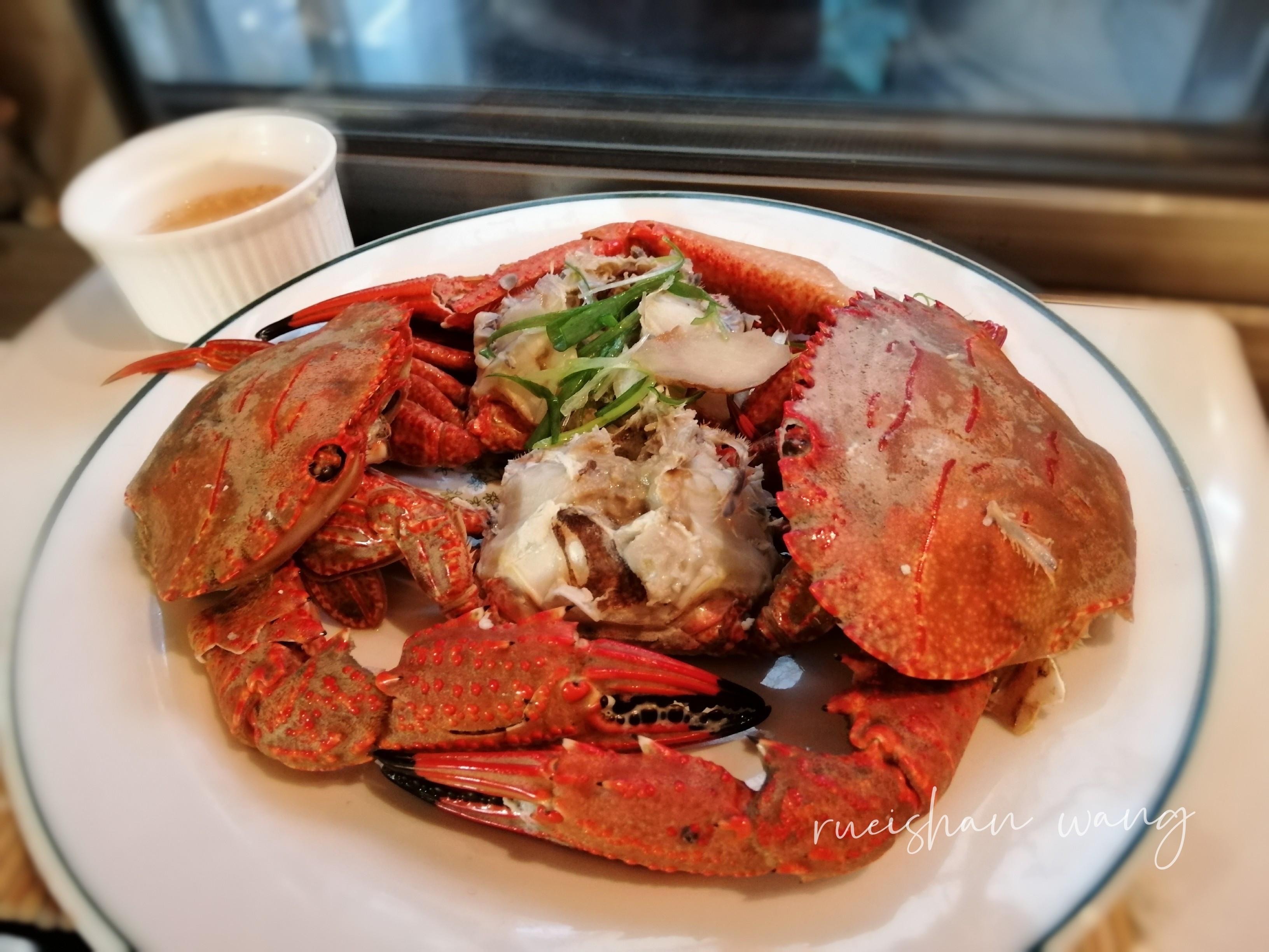 清蒸菊島螃蟹