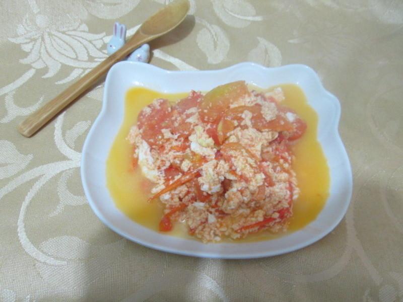 蕃茄炒蛋蛋