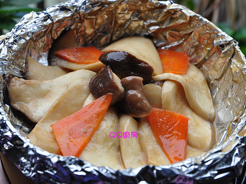 芝麻醬香杏鮑菇