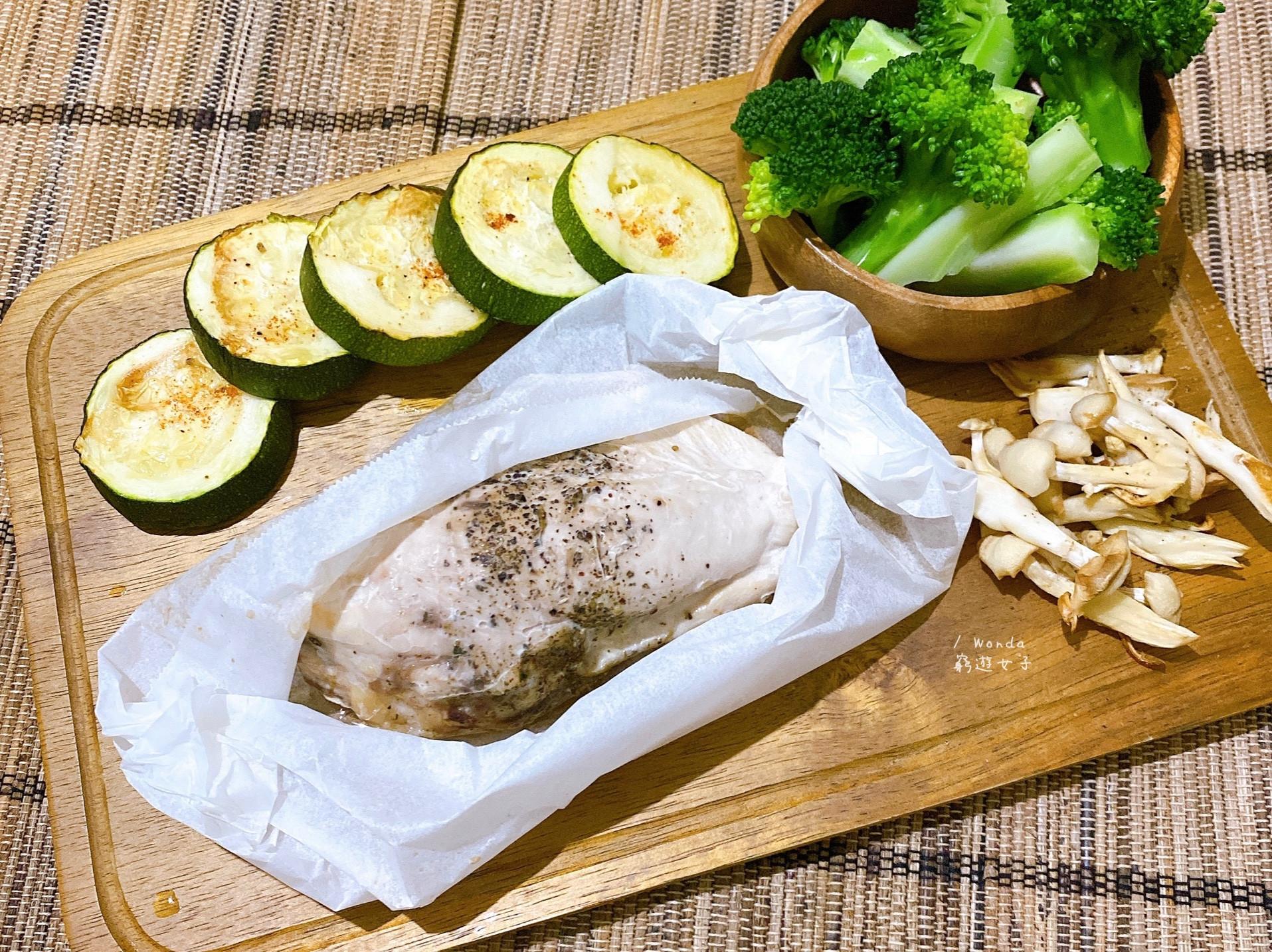 烤箱料理|香料雞肉蔬菜盤