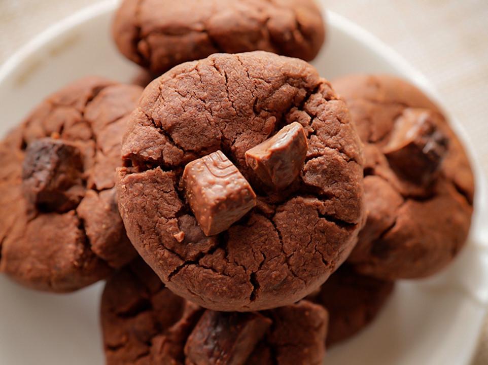 超脆巧克力曲奇餅乾  沒有雞蛋&泡打粉