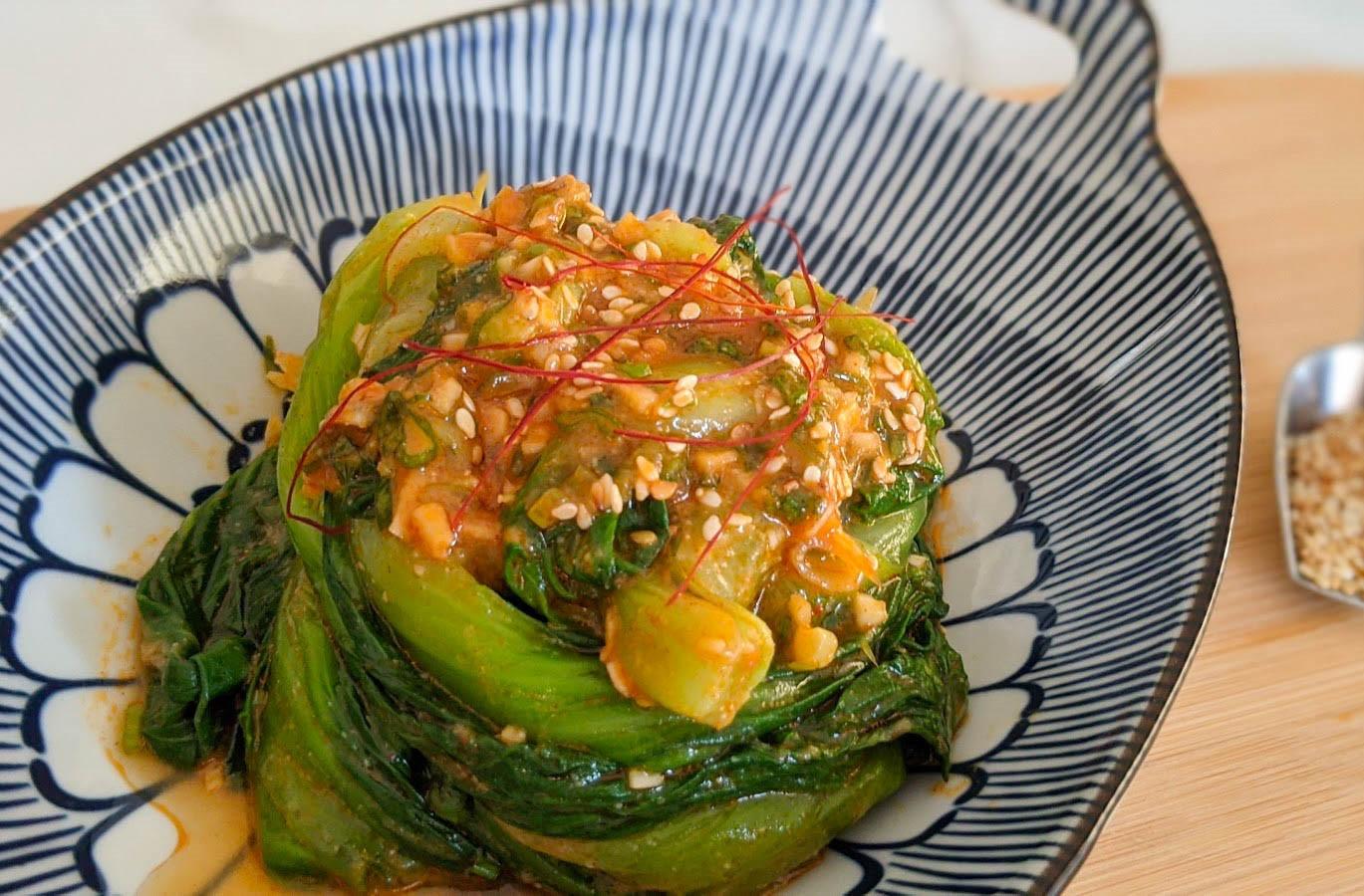 韓式大醬青江菜
