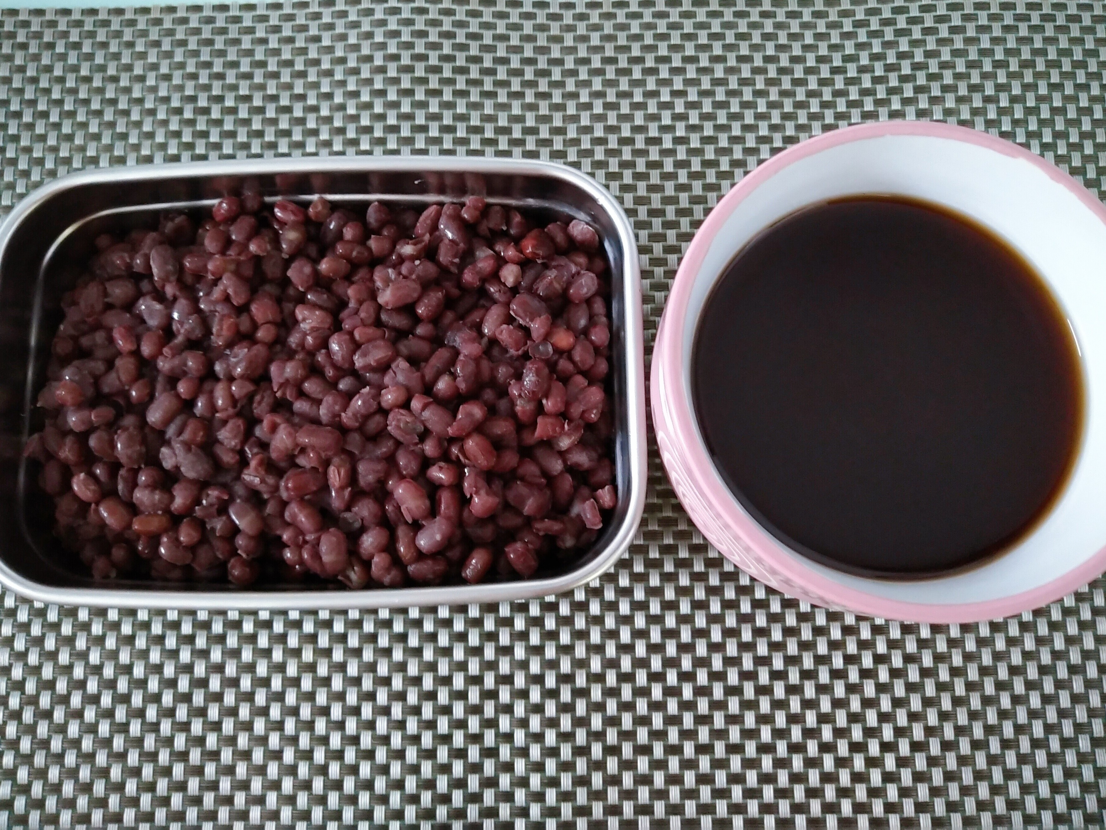 好男人料理-蜜紅豆&紅豆水
