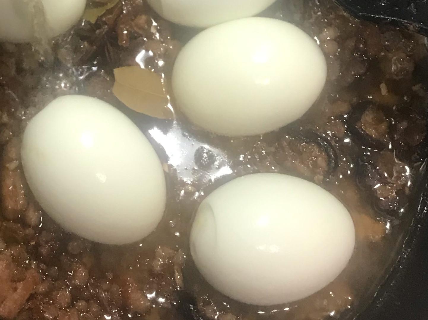水煮蛋[電鍋。極少水]