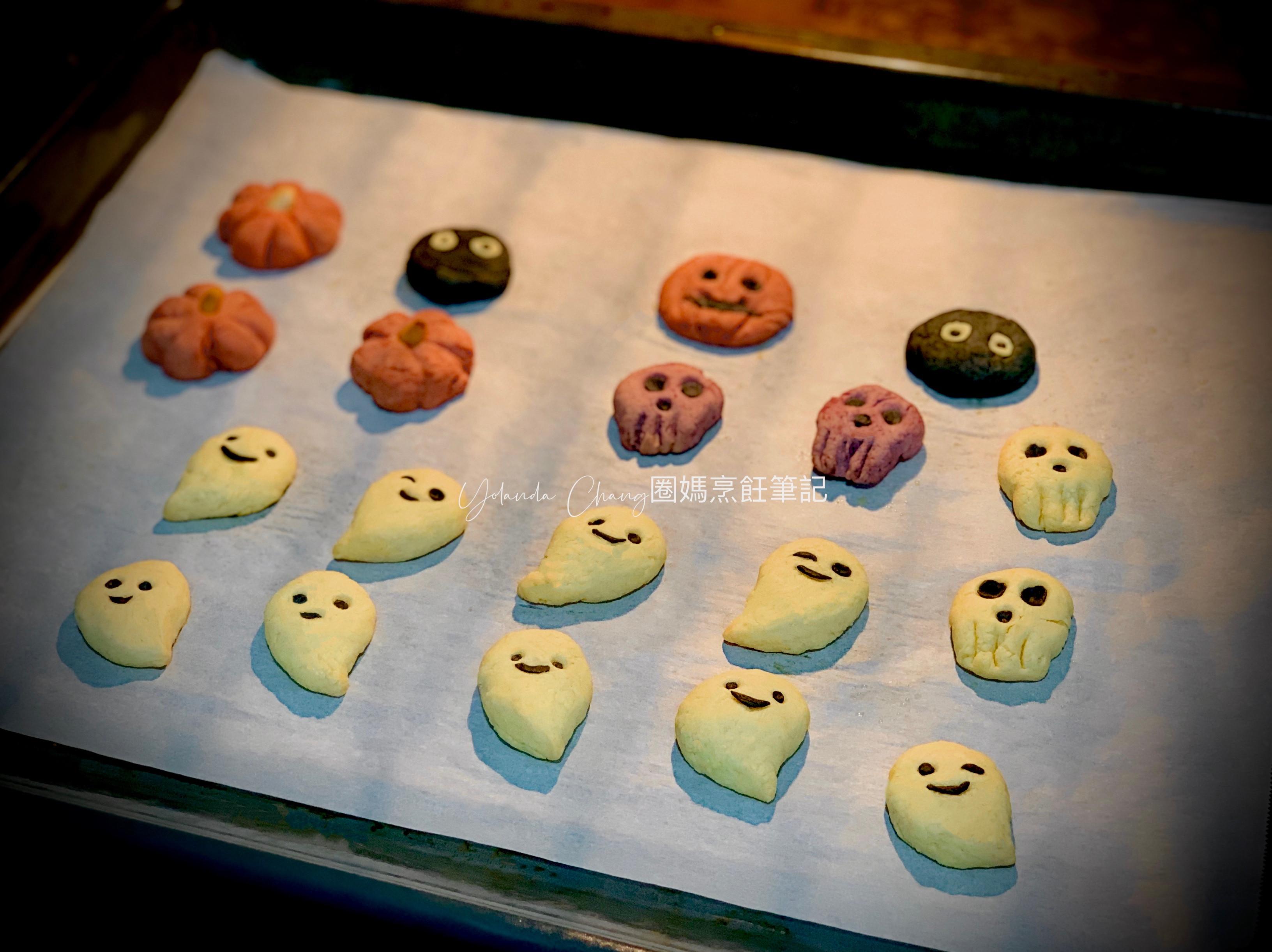 幽靈餅乾、鬼魂造型、萬聖節餅乾、造型餅乾