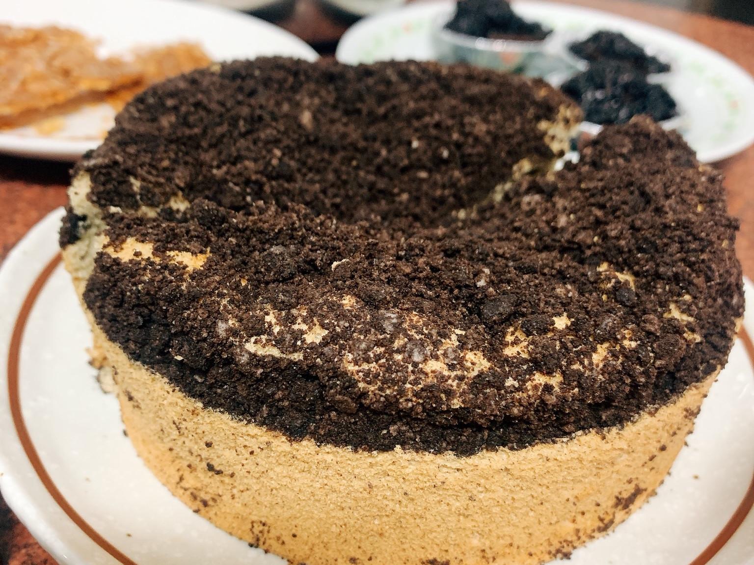 奧力歐戚風蛋糕