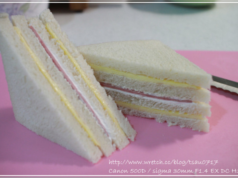 冰奶油三明治