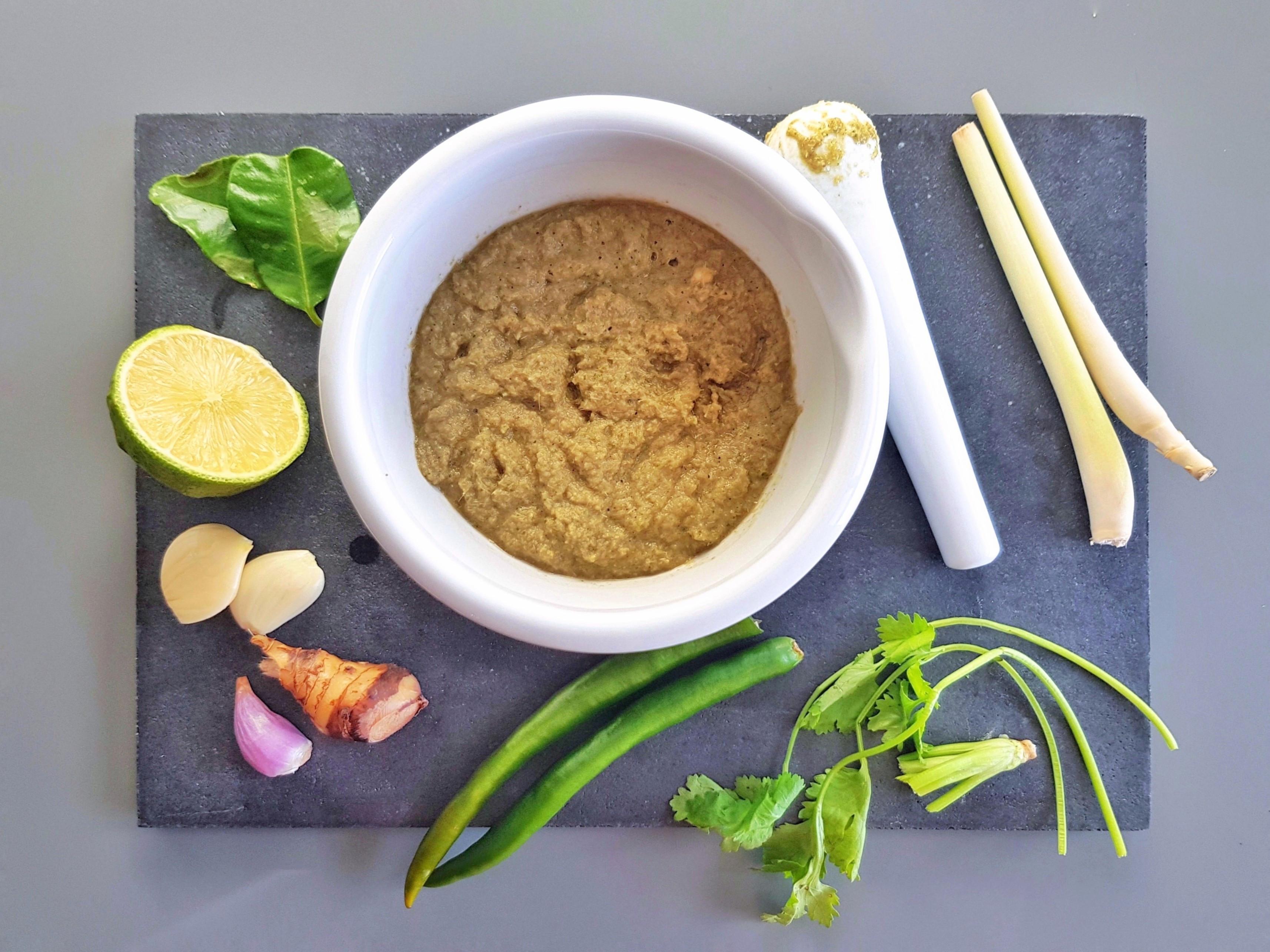 泰式綠咖哩醬
