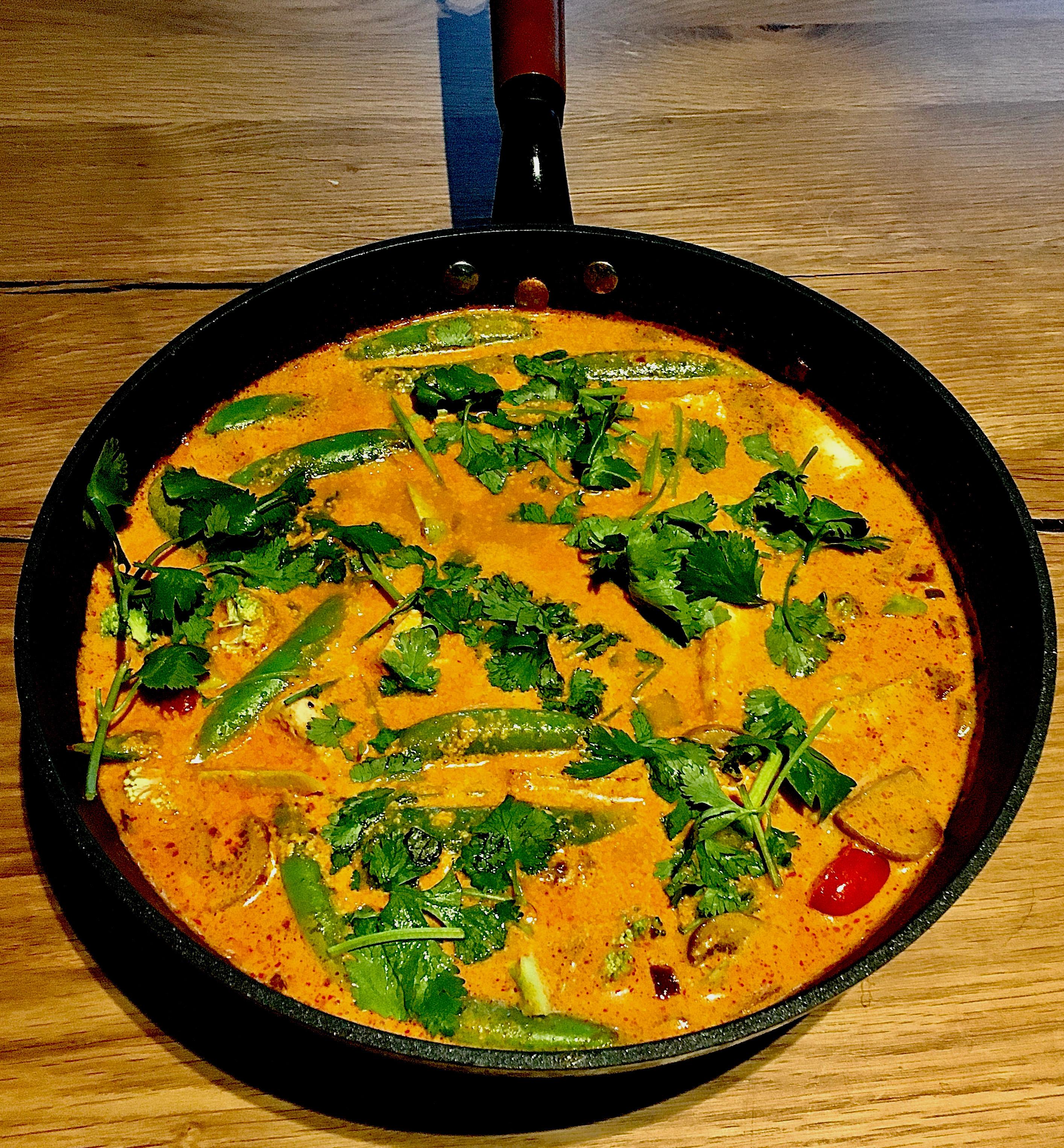泰式紅咖哩 (蔬食)