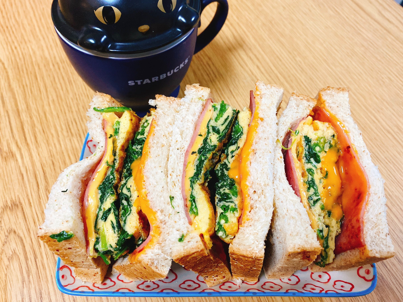菠菜三明治