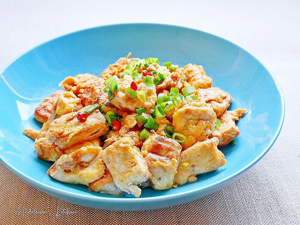 家常豆腐炒蛋