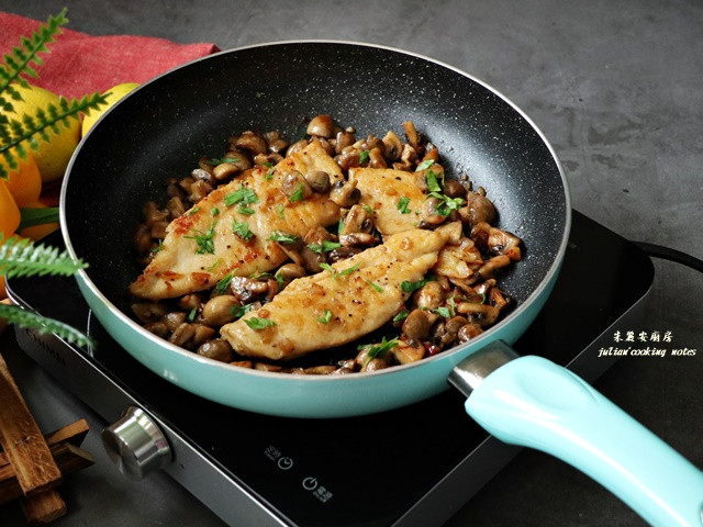 蘑菇雞胸肉 增肌減脂