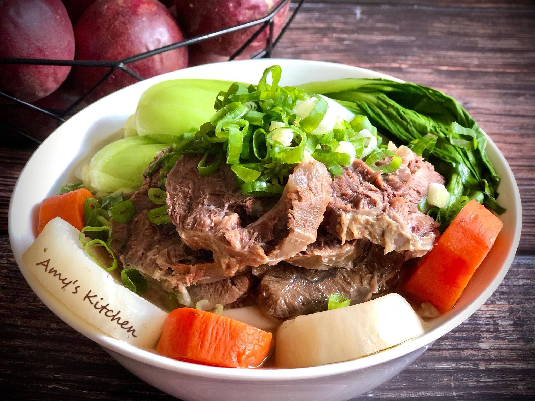 NG料理-清燉牛肉麵(#鋸齒肉)