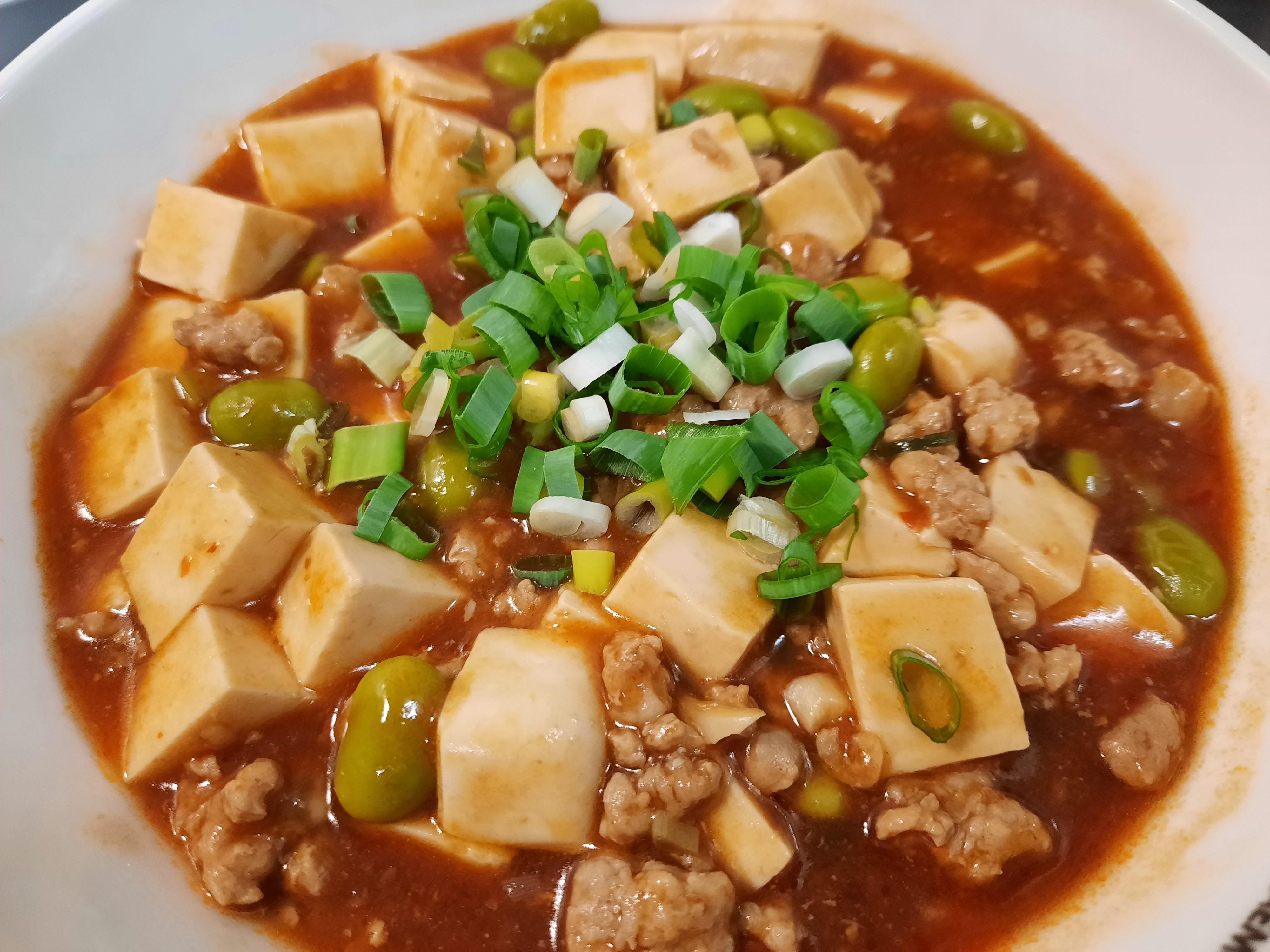 麻婆豆腐(辣豆瓣炒豆腐)