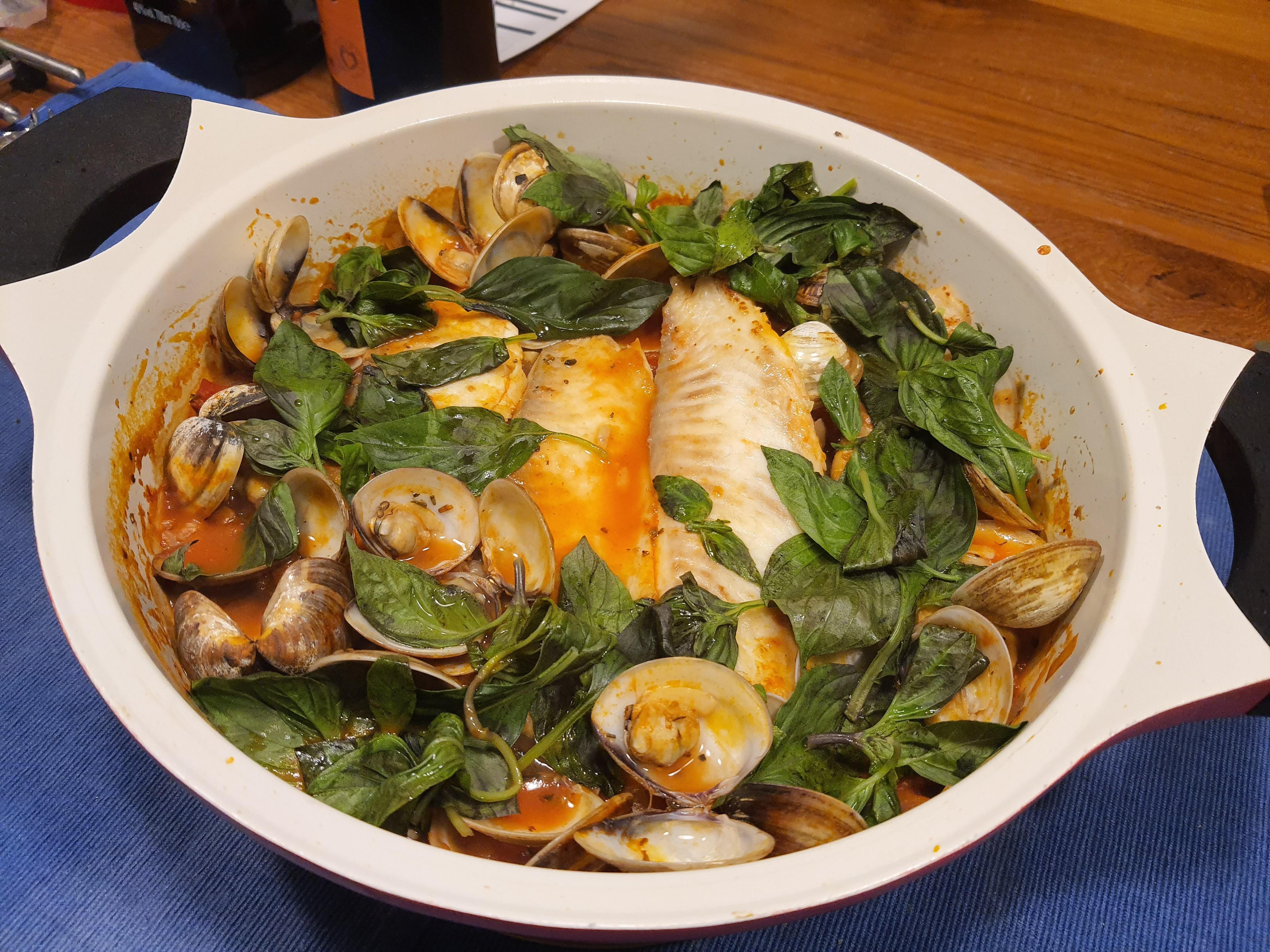 義式水煮魚燉飯