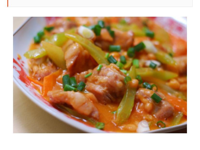 茄汁豆排骨