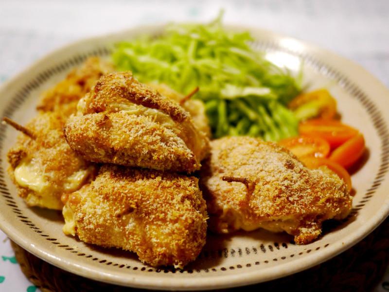 芝司樂起司火腿雞肉捲
