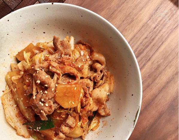 韓式泡菜豬五花